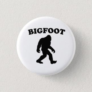Bigfoot 3 Cm Round Badge