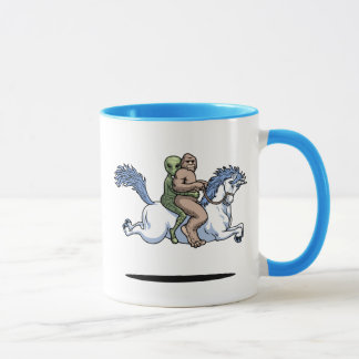 Bigfoot, Alien, Unicorn