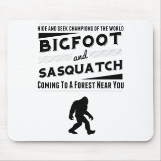Bigfoot And Sasquatch Hide And Seek Champions Mouse Pads