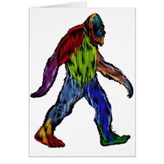 Bigfoot at Large Card