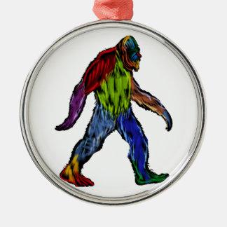 Bigfoot at Large Metal Ornament