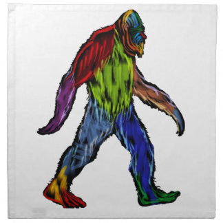 Bigfoot at Large Napkin