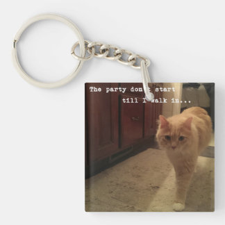 Bigfoot Buster Keychain - The Party Don't Start..