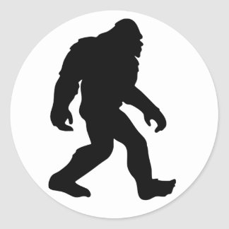 Bigfoot Classic Round Sticker