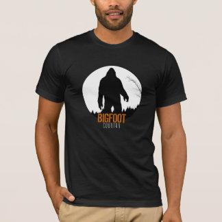 Bigfoot Country Bigfoot with Moon T-Shirt