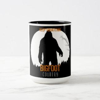 Bigfoot Country Keep Squatchin Mug 2
