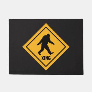 Bigfoot Crossing Doormat