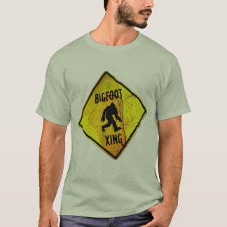 bigfoot crossing shirt