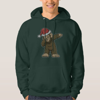 Bigfoot Dabbing Squatch Christmas Hoodie