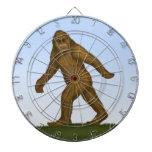 Bigfoot Dartboard