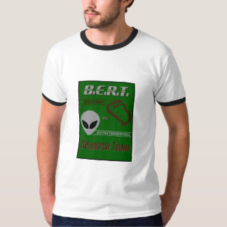 Bigfoot Extraterrestrial Research Team T-Shirt