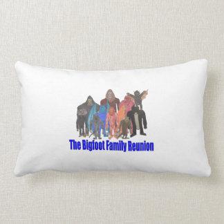 Bigfoot Family Reunion Pillow