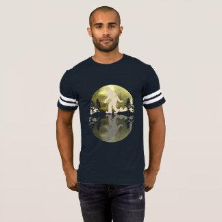 Bigfoot Football Sasquatch Bang Bang! T-Shirt