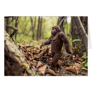 Bigfoot Greeting Card | Sasquatch