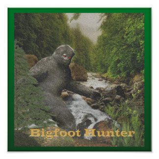 Bigfoot Hunter poster