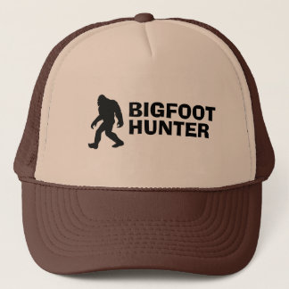 Bigfoot Hunter Trucker Hat