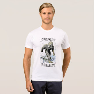 BIGFOOT I BELIEVE Sasquatch shirt
