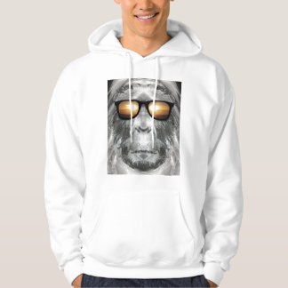 Bigfoot In Shades Hoodie