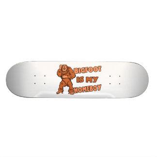 Bigfoot Is My Homeboy Custom Skate Board