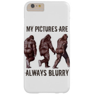 Bigfoot is Never In Focus Barely There iPhone 6 Plus Case