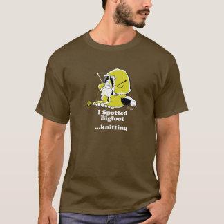 Bigfoot knitting T-Shirt