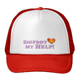 Bigfoot Loves My Help - Basic Hats