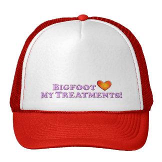 Bigfoot Loves My Treatments - Basic Mesh Hats