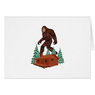 Bigfoot Paradise Card