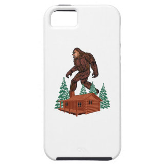 Bigfoot Paradise Case For The iPhone 5