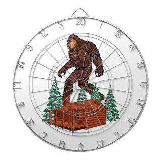 Bigfoot Paradise Dartboard