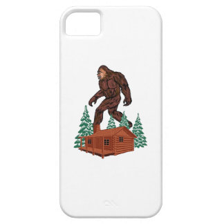 Bigfoot Paradise iPhone 5 Cover