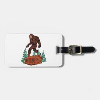 Bigfoot Paradise Luggage Tag