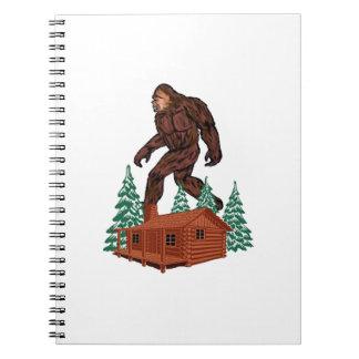 Bigfoot Paradise Notebooks