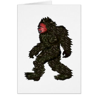 Bigfoot Pines Card
