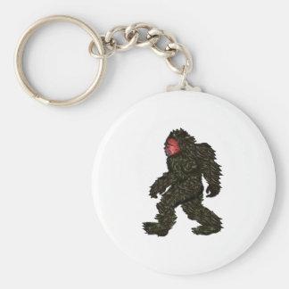 Bigfoot Pines Key Ring