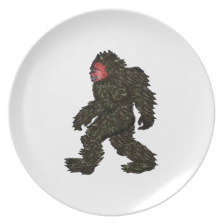 Bigfoot Pines Plate