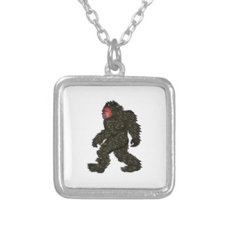 Bigfoot Pines Silver Plated Necklace