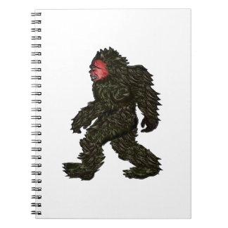 Bigfoot Pines Spiral Notebook