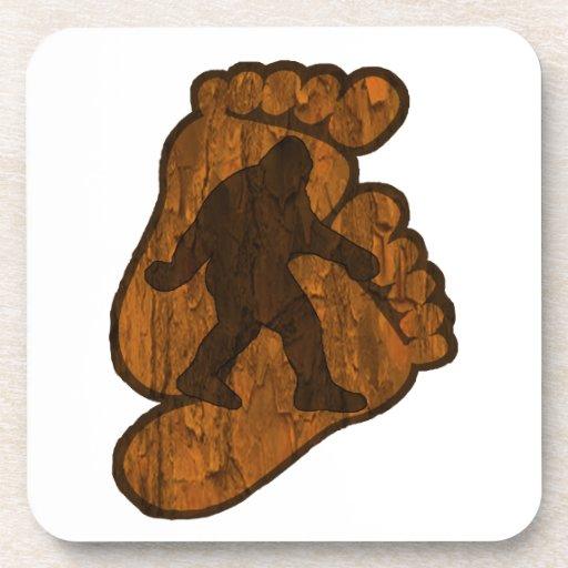 Bigfoot Prints Drink Coasters