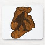 Bigfoot Prints Mouse Pad