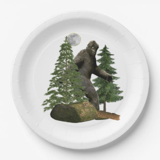 bigfoot products paper plate