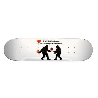 Bigfoot Remembers Valentine's Day Custom Skateboard