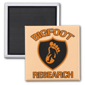 Bigfoot Research Square Magnet