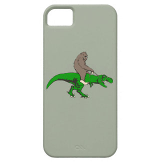 Bigfoot riding T Rex Barely There iPhone 5 Case