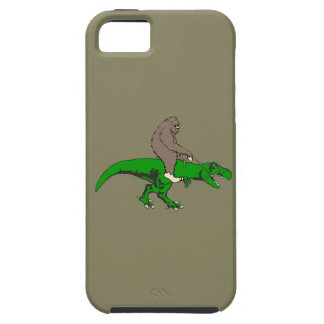 Bigfoot riding T Rex Case For The iPhone 5