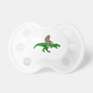 Bigfoot riding T Rex Dummy