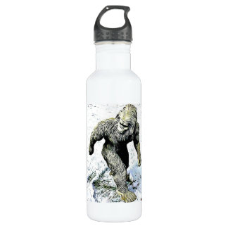 Bigfoot Sasquatch Water Bottle