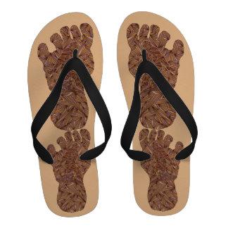 Bigfoot Sasquatch Yeti Men s Beach Shower Shoe Flip Flops