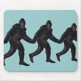 Bigfoot Sasquatch Yetti Mouse Pad