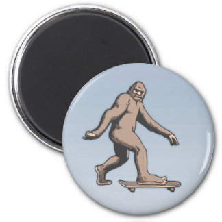 Bigfoot Skateboard Magnet